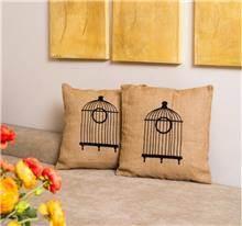 buycarpet - כרית נוי יוטה כלוב ציפורים