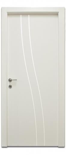 דלתות אלון - דלת ניקל גלי כפול