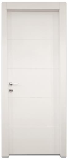 דלתות אלון - דלת 4 חריצים לרוחב