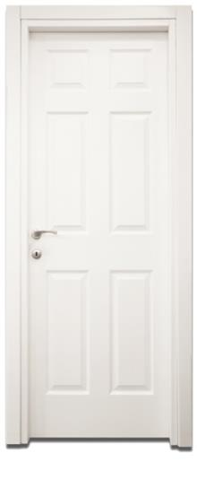 דלת 6 פאנל - דלתות אלון