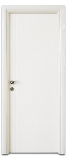 דלתות אלון - דלת חריצים רוחב ואורך