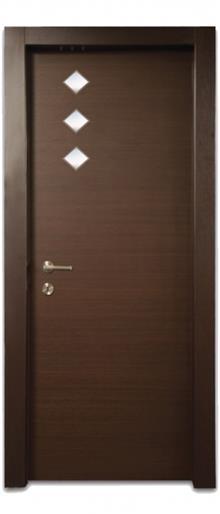 דלת 3 מעויינים - דלתות אלון
