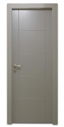 דלת סולם מחורץ - דלתות אלון