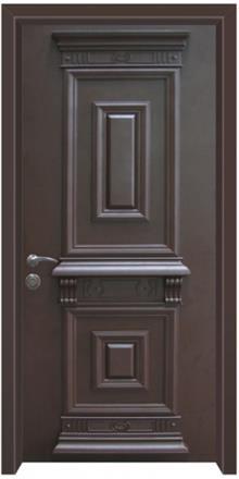 דלת כניסה קלאסית - דלתות אלון