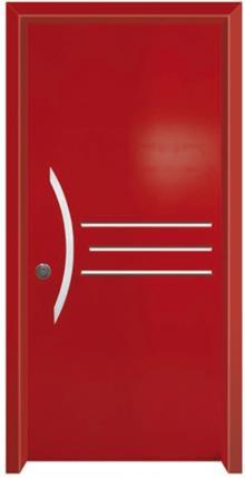 דלת כניסה עדן אדום