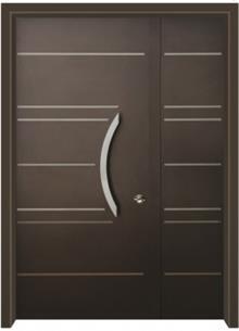 דלתות אלון - דלת כניסה עדן חום