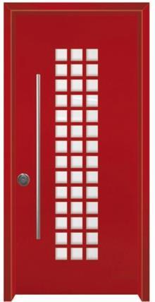 דלתות אלון - דלת פיניקס אדומה