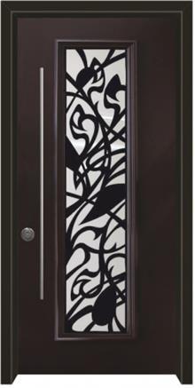 דלתות אלון - דלת כניסה מרקורי חום