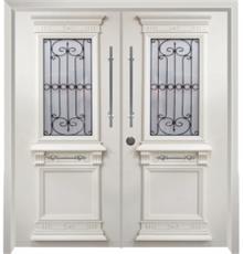 דלת יווני מרשימה - דלתות אלון