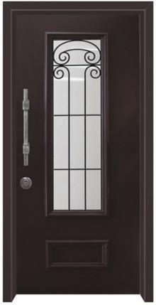 דלתות אלון - דלת כניסה נפחות שחור
