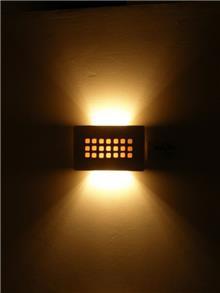 גוף תאורה צמוד קיר מלבני