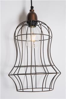 מנורת תלייה כלוב ציפורים - רזיאל תאורה