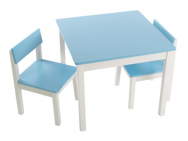 סט שולחן וכיסאות תכלת