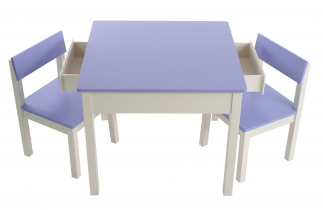 סט שולחן עם מגירות לילך