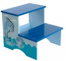 שרפרף עץ כחול דולפין
