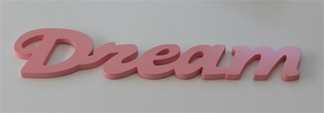 מילה מעוצבת DREAM ורוד