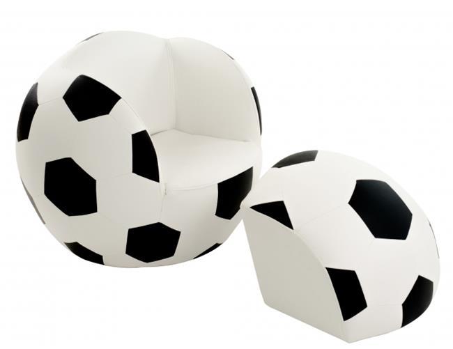 ספה בצורת כדורגל