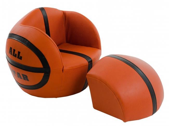 ספה בצורת כדורסל