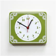 Fibers - שעון קיר וינטאג' ירוק