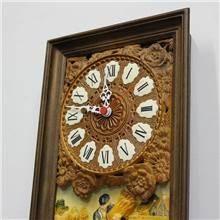 שעון קיר וינטאג' צרפתי גדול