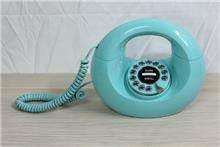 טלפון וינטאג' בצבע טורקיז - Fibers