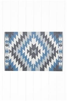 שטיחון גאומטרי בסגנון קילים - Fibers