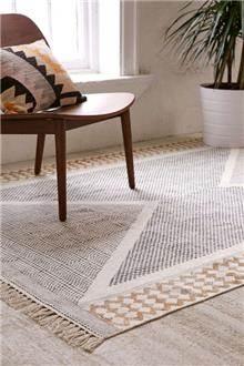 שטיח משולשים בהיר - Fibers
