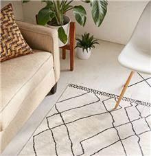 Fibers - שטיח גאומטרי בהיר