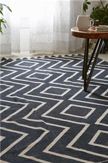 Fibers - שטיח זיגזג גדול