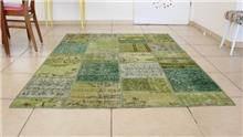 Fibers - שטיח פצ'וורק ירוק