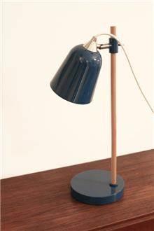 Fibers - מנורת שולחן כחולה רטרו