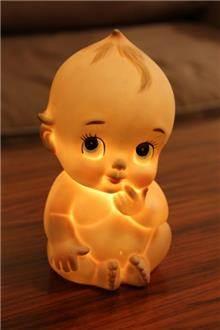 Fibers - מנורת תינוק פורצלן