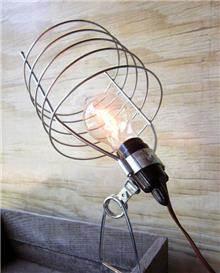 Fibers - מנורה תעשייתית עם קליפס