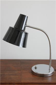 Fibers - מנורת שולחן וינטאג' שחורה