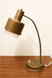 Fibers - מנורת שולחן וינטאג' זהובה