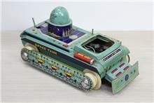 טנק חלל צעצוע וינטאג'