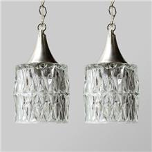 מנורות וינטאג' קריסטליות - Fibers