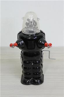 רובוט פח רטרו - Fibers