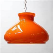 מנורת מורנו וינטאג' כתומה