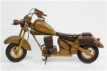מודל הרלי דייווידסון מעץ - Fibers