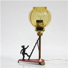 Fibers - מנורת וינטאג' ישראלית