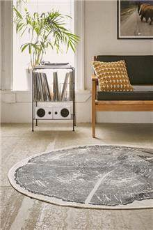 Fibers - שטיח עגול גזע עץ