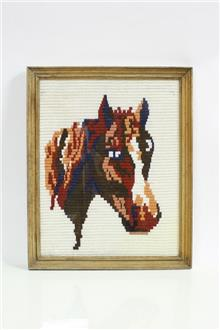 גובלן סוס ממוסגר - Fibers