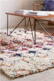 שטיח שאגי בסגנון מרוקאי
