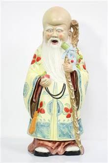 פסל של חכם סיני - Fibers