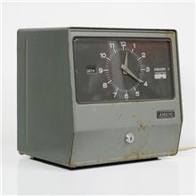 שעון נוכחות וינטאג' יפני גדול - Fibers