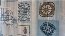 עיצוב על גלגלים - בד סינטטי הגה ספינה