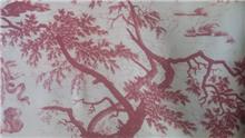 בד סינטטי דוגמת עצים