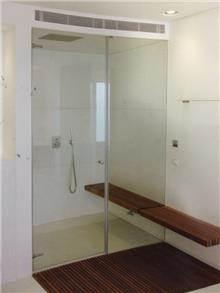 זאב זכוכית - מקלחון חזית ספא