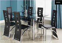 פינת אוכל+6 כסאות LORETO